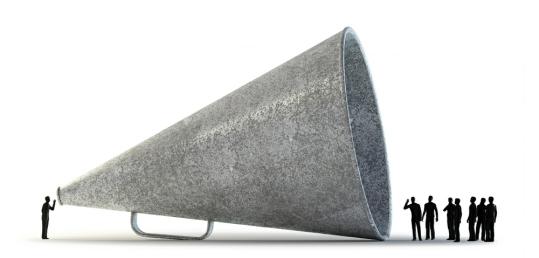 SEO Bedfordshire Futurenet Publishing megaphone image
